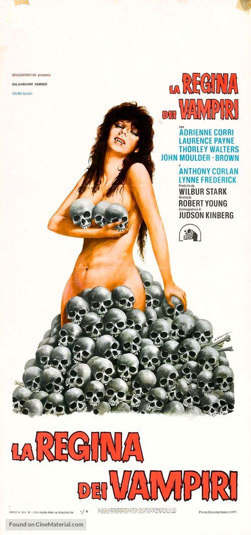 Vampire Circus - Italian Movie Poster