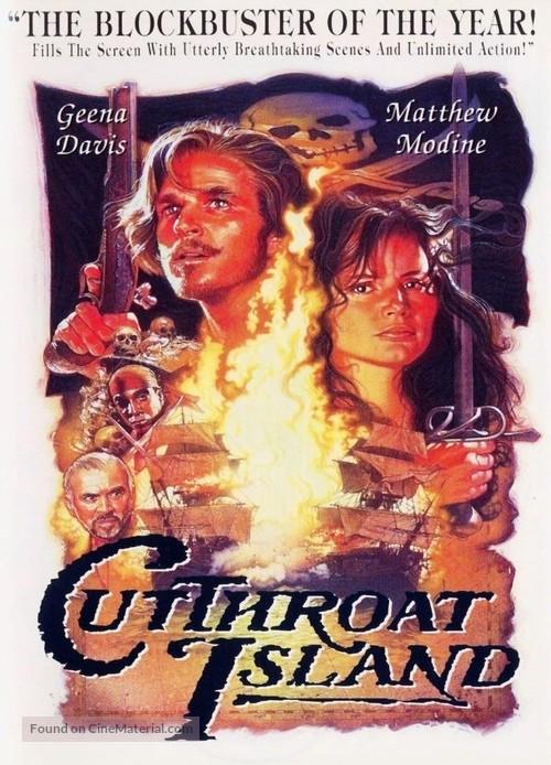 Cutthroat Island - DVD movie cover