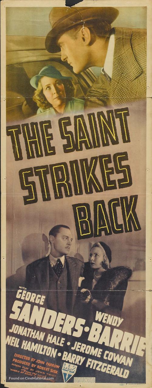 The Saint Strikes Back - Movie Poster