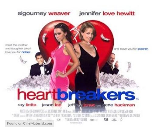 Heartbreakers - British Movie Poster