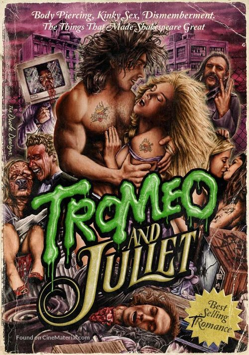 Tromeo and Juliet - German Blu-Ray movie cover