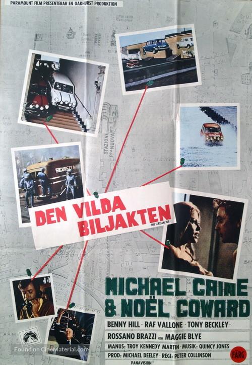 The Italian Job - Swedish Movie Poster