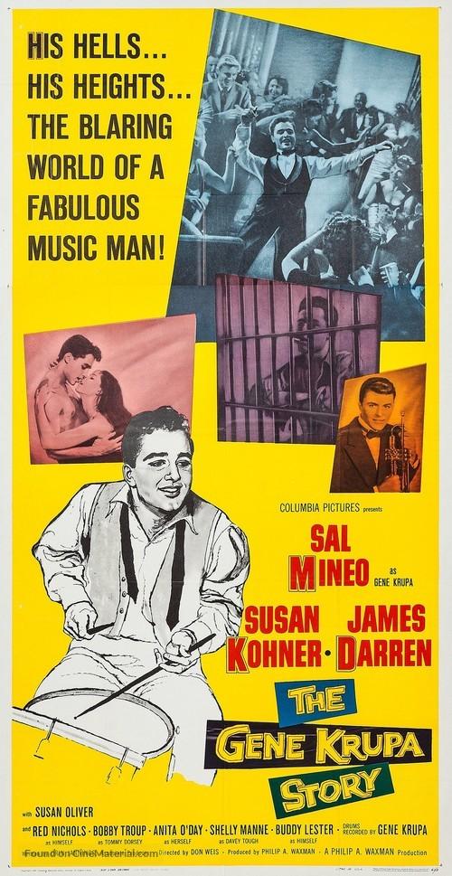 The Gene Krupa Story - Movie Poster