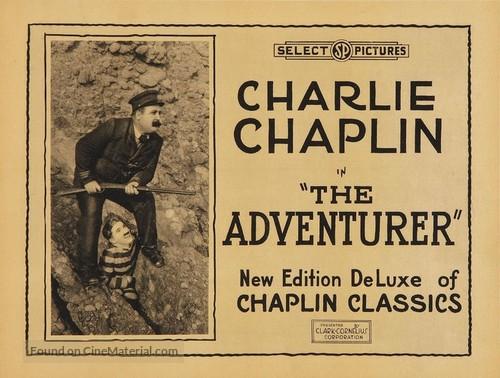 The Adventurer - Movie Poster