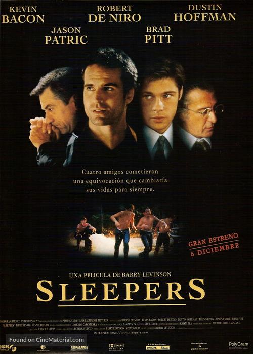 Sleepers - Spanish Movie Poster