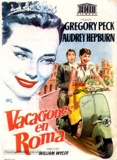 Image Result For A Roman Holiday Full Movie