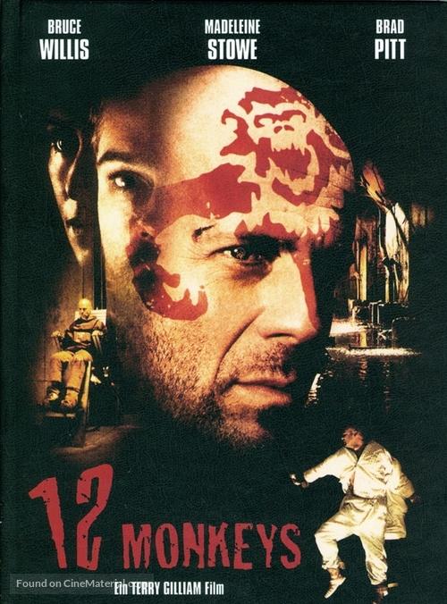 Twelve Monkeys - German Blu-Ray movie cover