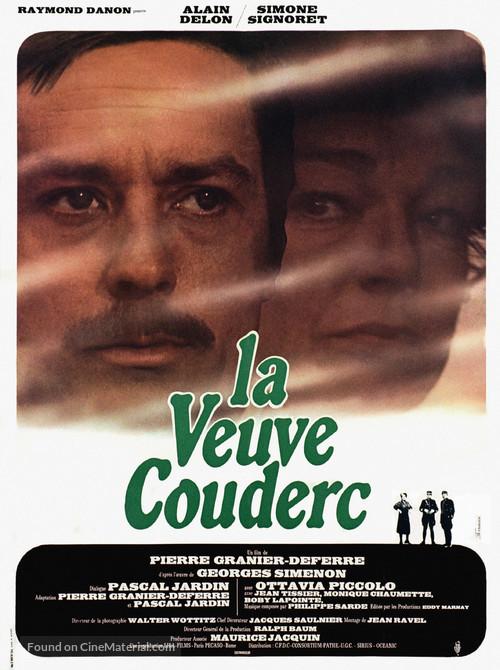 Veuve Couderc, La - French Movie Poster
