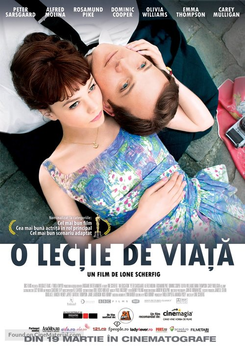 An Education - Romanian Movie Poster