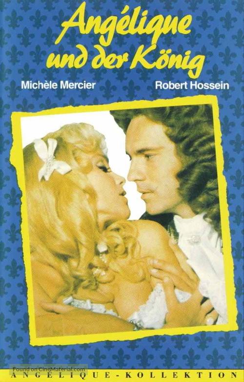 Angélique et le roy - German Movie Cover
