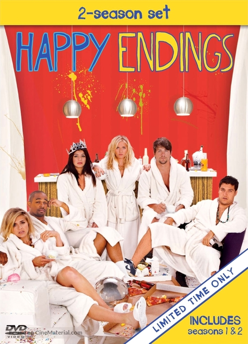 """Happy Endings"" - DVD movie cover"
