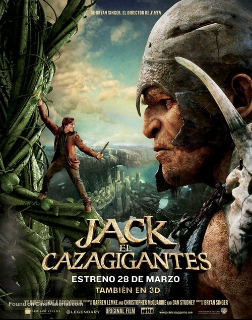 Jack the Giant Slayer - Argentinian Movie Poster