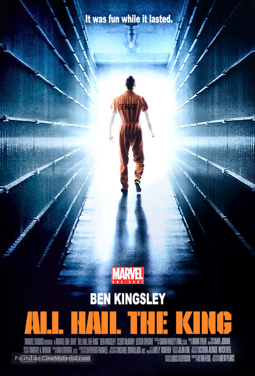 Marvel One-Shot: All Hail the King - poster