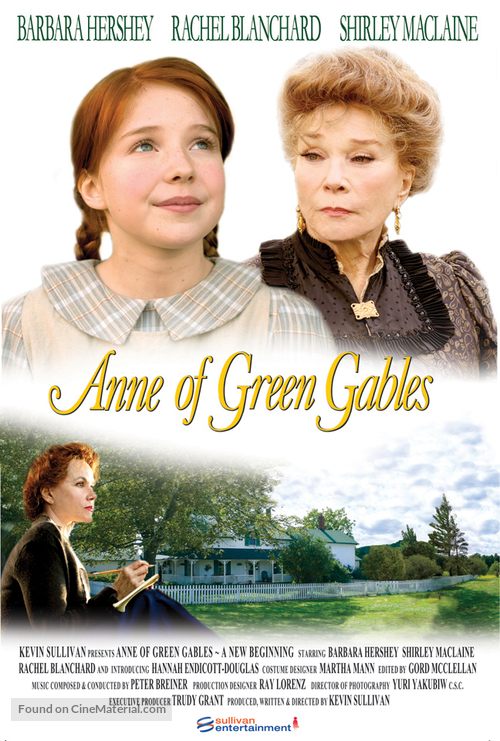 Anne of Green Gables: A New Beginning - DVD movie cover