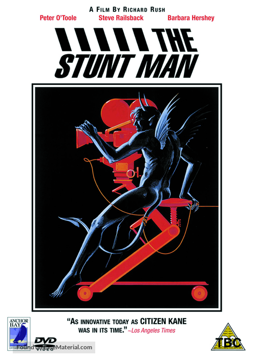 The Stunt Man - British DVD movie cover