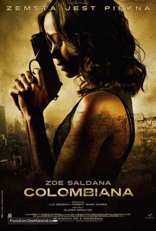 Colombiana - Polish Movie Poster