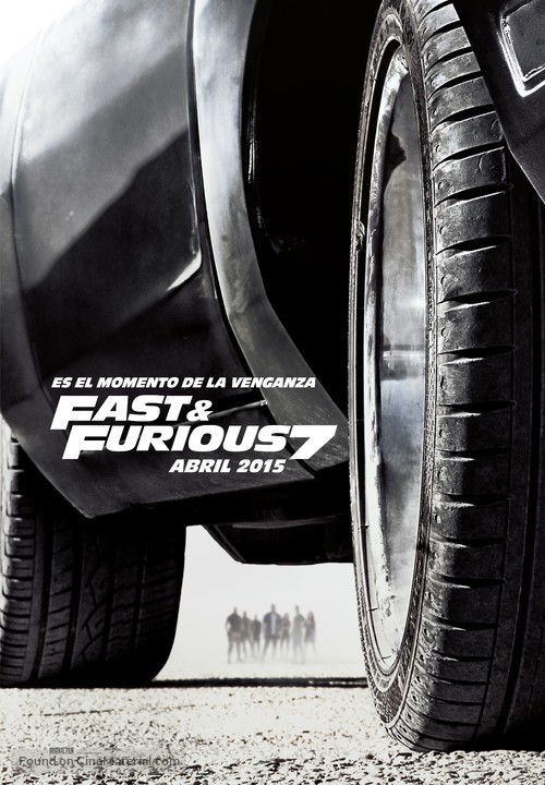 Furious 7 - Spanish Movie Poster