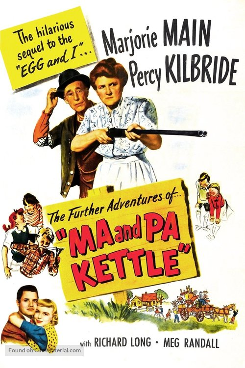 Ma and Pa Kettle - Movie Poster