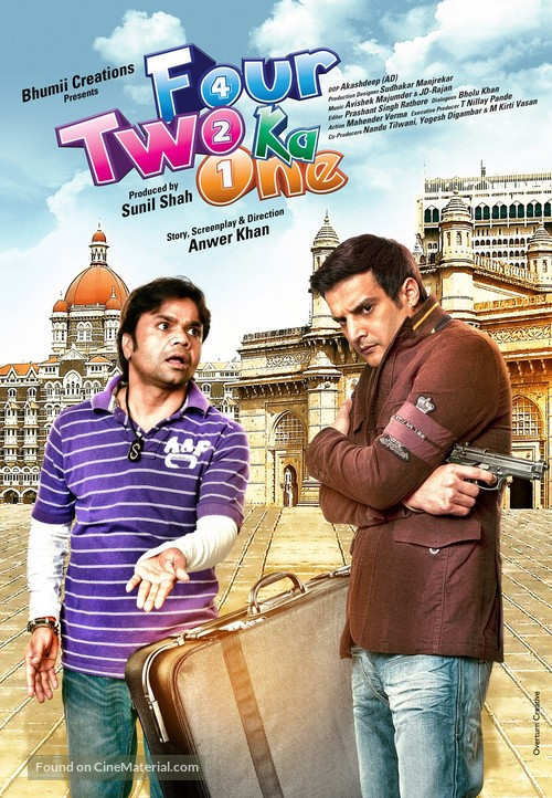 Four Two Ka One - Indian Movie Poster