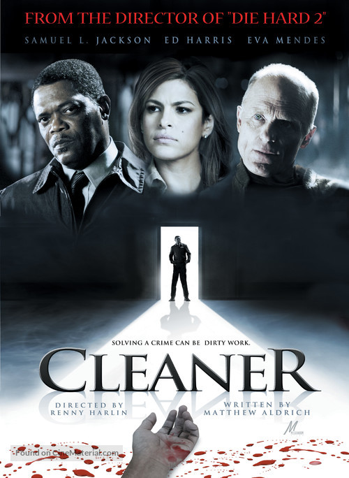 Cleaner - DVD movie cover
