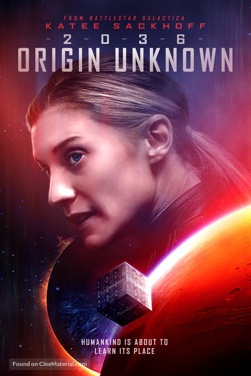 2036 Origin Unknown - British Movie Poster