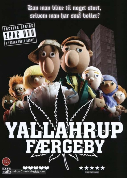 """""""Yallahrup Færgeby"""" - Danish DVD movie cover"""