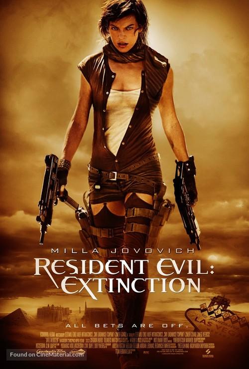 Resident Evil: Extinction - Theatrical poster