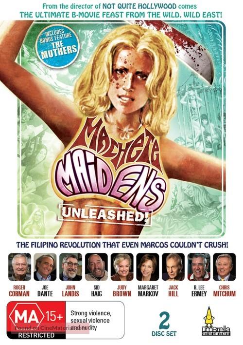 Machete Maidens Unleashed! - Australian DVD movie cover