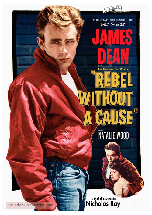 Rebel Without a Cause - French DVD movie cover