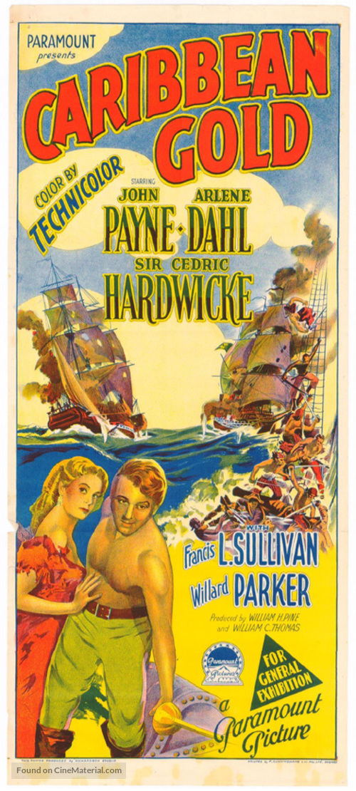 Caribbean - Australian Movie Poster