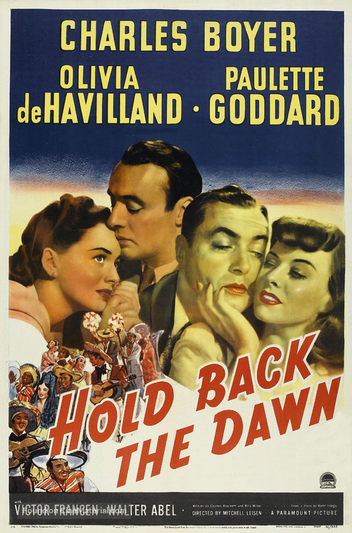 Hold Back the Dawn - Movie Poster