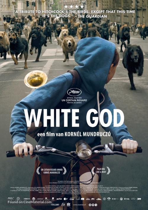Fehér isten - Dutch Movie Poster