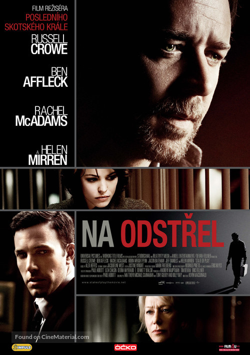 State of Play - Czech Movie Poster