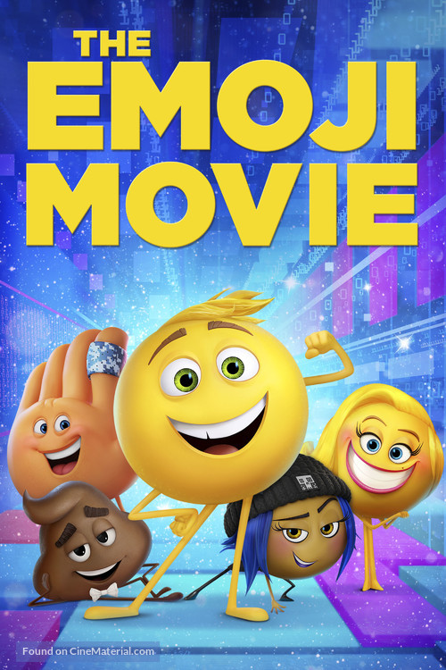 The Emoji Movie Movie Cover