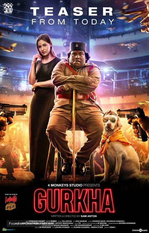Gurkha - Indian Movie Poster