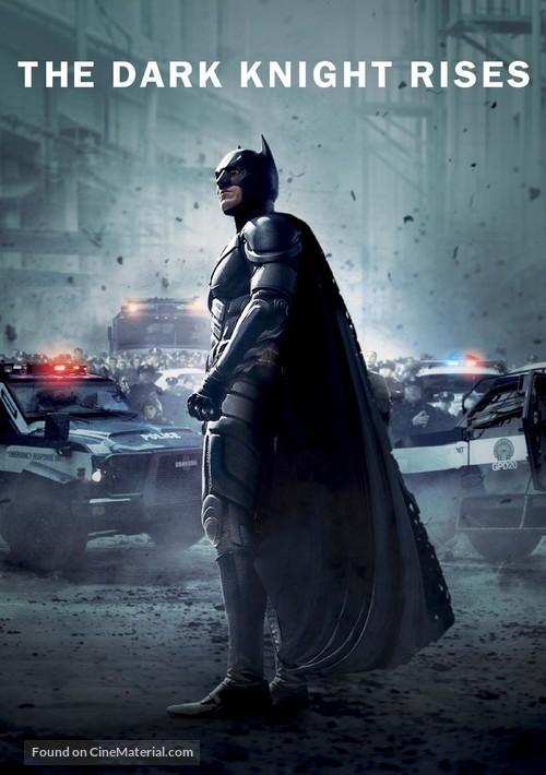 The Dark Knight Rises - Movie Cover