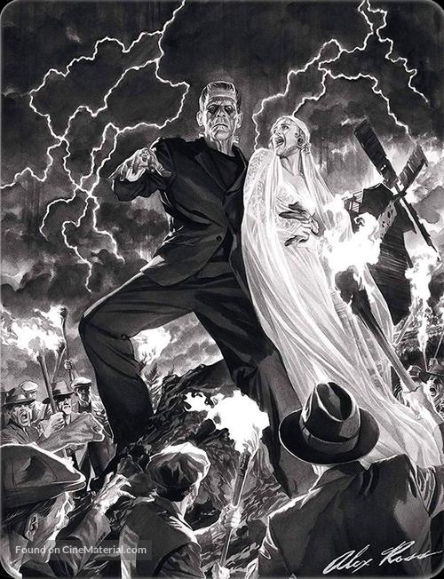 Frankenstein - Spanish Blu-Ray movie cover