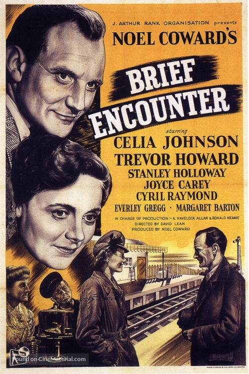 Brief Encounter - Movie Poster