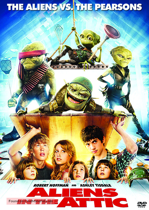 Aliens in the Attic - Movie Poster