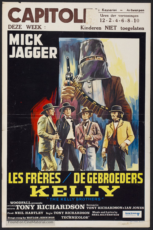 Ned Kelly - Belgian Movie Poster