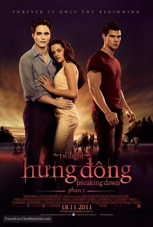 The Twilight Saga: Breaking Dawn - Part 1 - Vietnamese Movie Poster