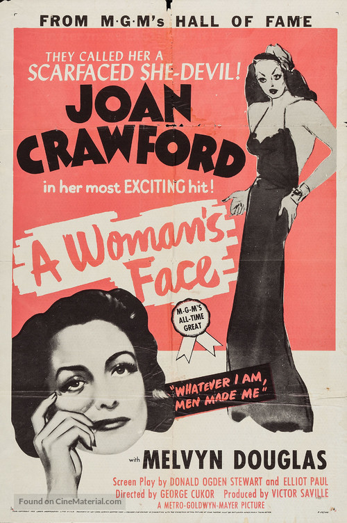 A Woman's Face - Movie Poster