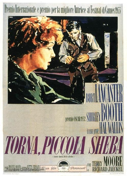Come Back, Little Sheba - Italian Movie Poster