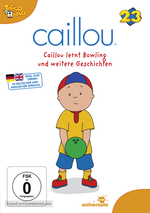 """Caillou"" - German Movie Cover"