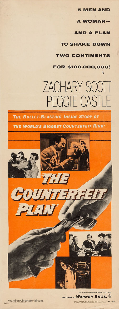 The Counterfeit Plan - Movie Poster