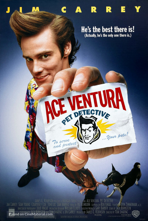 Ace Ventura: Pet Detective - Movie Poster