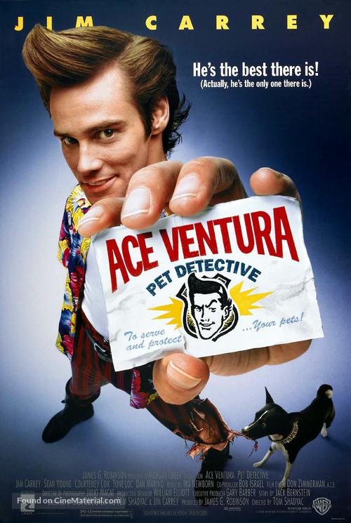 Ace Ventura: Pet Detective - Movie Poster