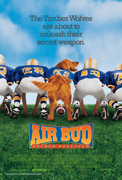 Air Bud: Golden Receiver - Movie Poster