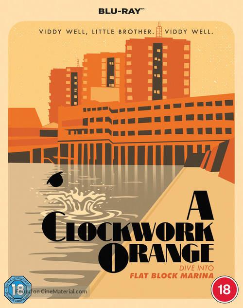 A Clockwork Orange - British Movie Cover