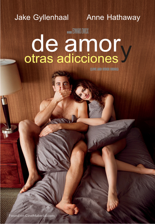 Love and Other Drugs - Argentinian DVD movie cover